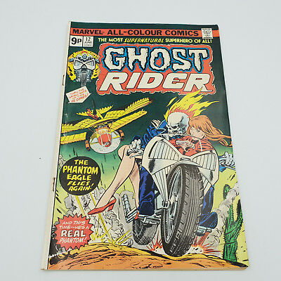 Ghost Rider #12 Bronze Age Marvel Comics Frank Robbins VF