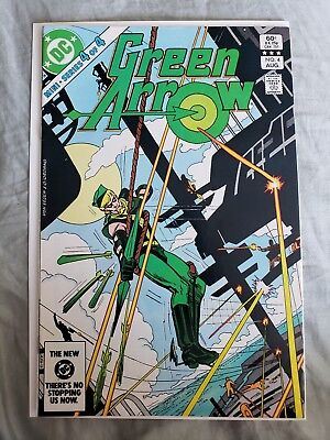 Green Arrow #4 1983 Mini Series