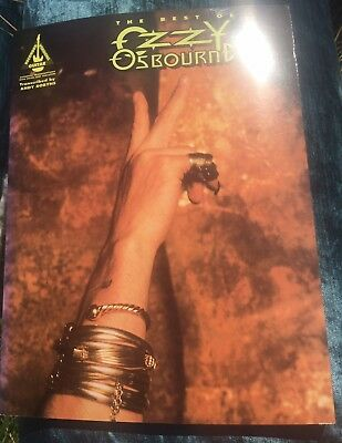 Ozzy Osbourne Music Book