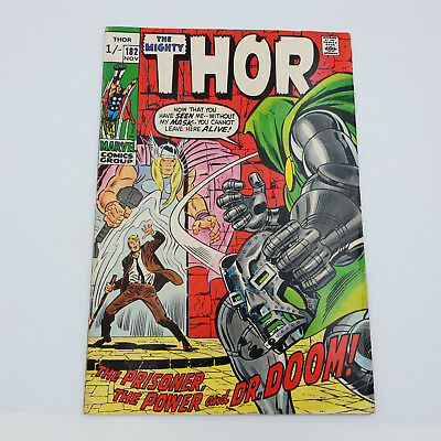 The Mighty Thor 182 Bronze Age Marvel Comics 1st Appearance Cosette Lafarge F/VF