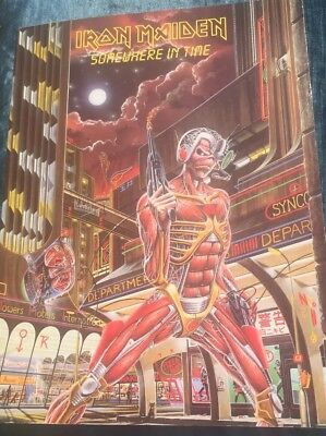 Iron Maiden Somewhere In Time Music Book