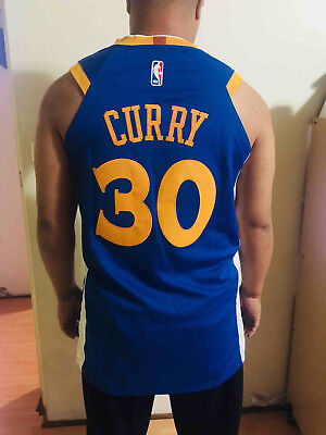NBA Golden State Warriors #30 Stephen Curry 2018/2019.