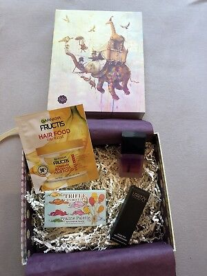 Glossy Box September Trifle Cosmetics, Laritzy, Nailmedic