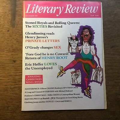 Literary Review December 1987 Mint