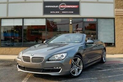 2012 BMW 6-Series  low mile 650 free shipping warranty clean carfax 2 owner dealer service finance