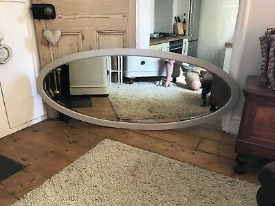 Large original Victorian antique Mirror Painted In F And B Elephants  Breath