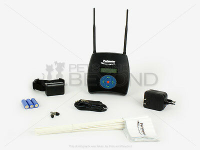 Perimeter Wireless WiFi Dog Fence System Bundle 50 Free Training Flags Included