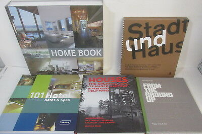 Architecture themed book collection x 17 titles, some still sealed, job lot