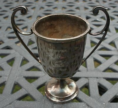 ANTIQUE SILVER PLATE 1926 ETON SCHOOL boys ROWING CUP BOWER DRYSDALE