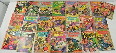 24 Vintage Our Fighting Forces Comics DC Comic Books 67-109 Huge Lot Silver AGe