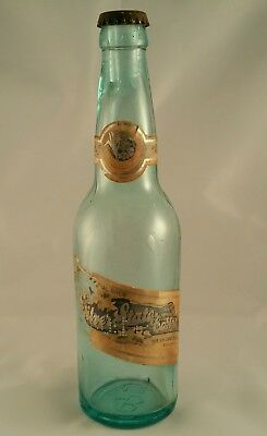 Pre Prohibition PH ZANG BREWING CO Denver Beer Bottle & Cap with Paper Label