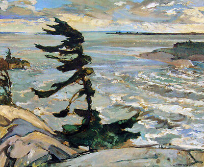 """Group of Seven, Frederick Varley """"Stormy Weather"""" Large Print"""