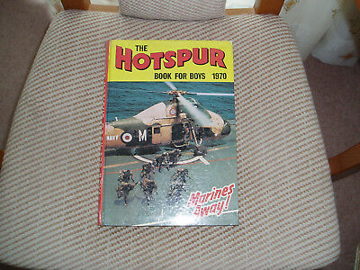 Hotspur annual/books 1970 and 1971