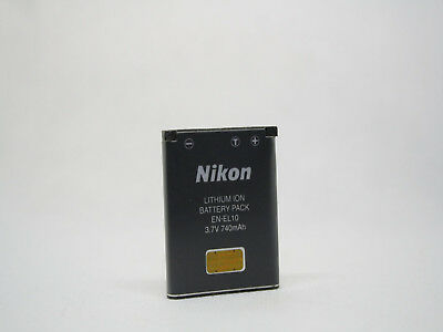 ✔️ ORIGINAL GENUINE NIKON EN-EL10 BATTERY 740mAh FOR COOLPIX CAMERAS UK SELLER