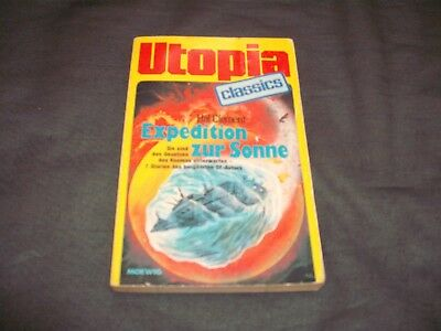 Utopia Classics Sf TB 74 Expedition zur Sonne - Hal Clement  * 1985