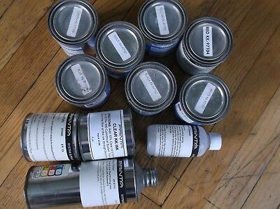 NEW 11 Assorted PRINTA SYSTEM Screen Printing INK GOLD White RED Yellow GREEN