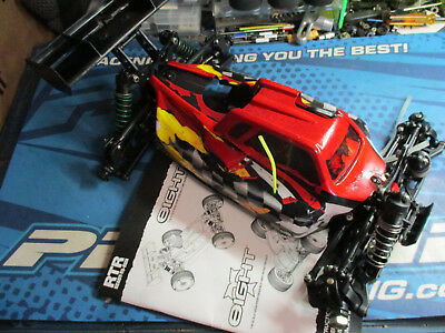 Team Losi 8ight, 8, eight 1/8 buggy chassis slider 2.0 3.0