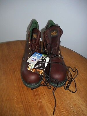 """bb303d24871 WORK ONE WEINBRENNER 6"""" Work Boots 804-4711 Thorogood Shoes Size 13"""