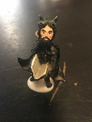 Duncan Royale History Of Santa Black Peter Christmas Pewter Figure 3 Inch 1983