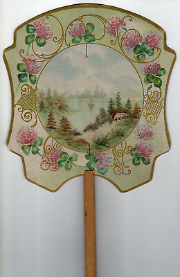 Vintage Advertising Fan, Bullard & Shedd Co. Of NH, Druggists And Delicious Soda