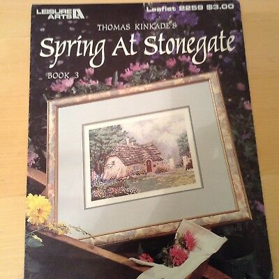 Cross Stitch Patterns. SPRING AT STONEGATE.