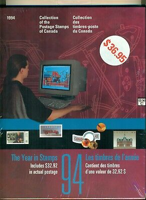 1994 Collection of the Postage Stamps of Canada Booklet (OOAK)