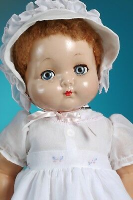 "1940's Effanbee composition Sweetie Pie doll 20""/ compostion body!"