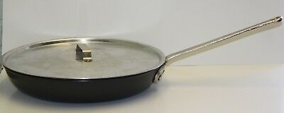 """Calphalon Commercial Anodized Aluminum 14"""" Skillet #1394 SKILLET with LID"""