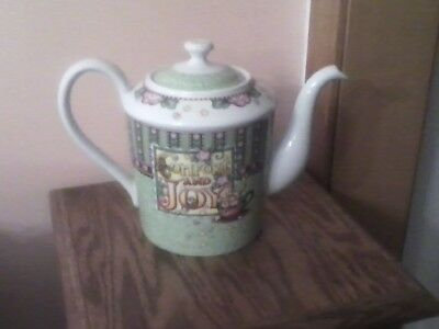 Mary Engelbreit Comfort and Joy Coffee Pot