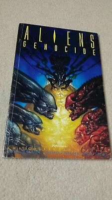 Aliens genocide graphics novel - First Edition