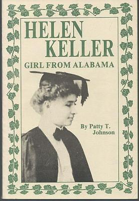 Lot of Two Vintage Books About Helen Keller Girl From Alabama/Sketch Portrait