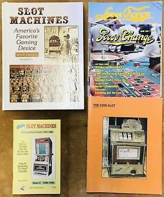 Collection Of Slot Machine Books And Periodicals
