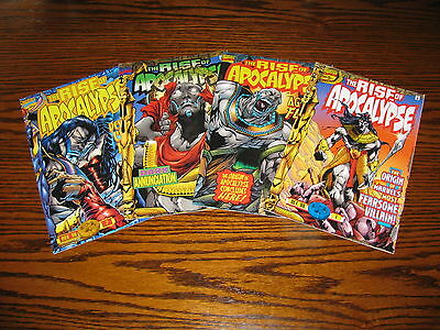 Marvel - THE RISE OF APOCALYPSE 1 - 4 Complete Series!!  1996  Glossy VF/VF+