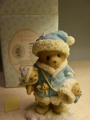 Cherished Teddies ANTOINETTE 4005873 Decorate With Love For A Happy Holiday  NEW
