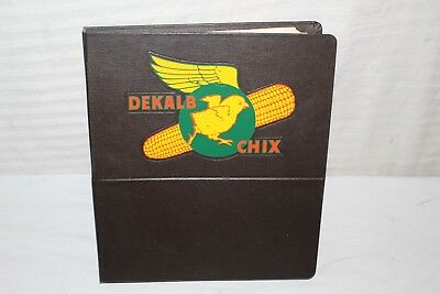 Rare Vintage 1960's Dekalb Chix Chicken Egg Farm Feed Seed Sales Book Sign~Neat