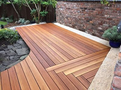 Pacific Mahogany 90x19 Hardwood Decking Timber
