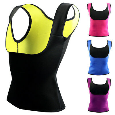 Women Sweat Sauna Hot Body Shaper Slimming Vest Thermo Neoprene Waist Trainer
