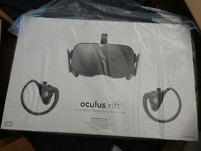 NEW Oculus Rift VR Headset + Touch Virtual Reality System Bundle