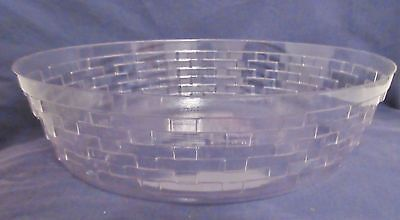 Oval Longaberger Protector for 2002 Easter Basket with Faded Label