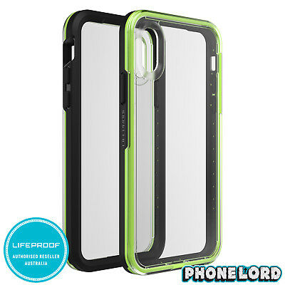 brand new 13069 67140 GENUINE LIFEPROOF SLAM dust shock case cover iPhone X/XS Tough Clear ...
