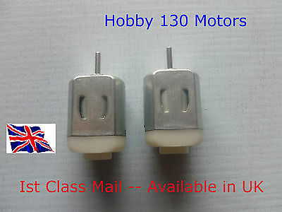 REVERSIBLE 130 HOBBY DC Motor 1-6 Volt - Available in UK