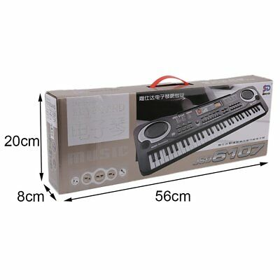 61 Keys Digital Music Electronic Keyboard Board Toy Gift Electric Piano ZG