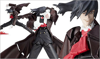 KAIYODO REVOLTECH YAMAGUCHI 114 HELLSING Alucard Action Figure from Japan Used