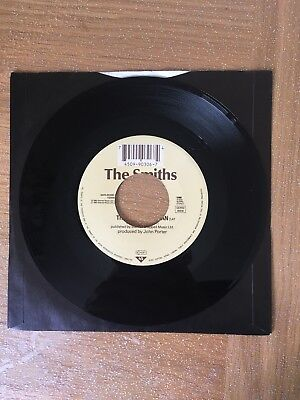 """The Smiths - This Charming Man / Jeane (Rare Jukebox 7"""") WEA – YZ0001"""