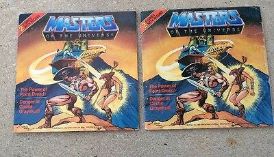 Masters of the Universe - 2 Stories with Record