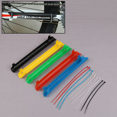 Mountain Bike Cycling Bicycle Frame Chain Protector Plastic Protector Guard Pad-