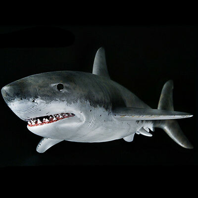 Safariology Jaw Snapping Great White Shark Safari Ltd New Educational Toy Figure
