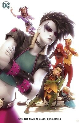Teen Titans #22 Garner Variant Dc Comics Near Mint 9/19/18