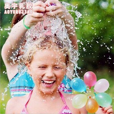 120Pcs Filling Water Balloons Outdoor Toys Magic Bombs Kids Garden Party Toys G9