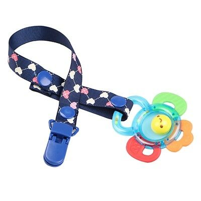 Baby Anti-lost Hot Clip Holder Dummy Pacifier Soother Nipple Strap Chain Pop
